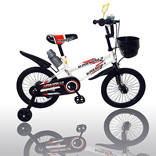 American Phoenix Multi Styles Kids Bike 12-Inch 16-Inch Wheels Avaiable BMX Freestyle Bicycle With Training Wheels Steel Frame, Newest Stytle Boy's Bike and Girl's Bike (Boys Bicycle With Bottle, 16-Inch Wheel) by American Phoenix (Image #1)