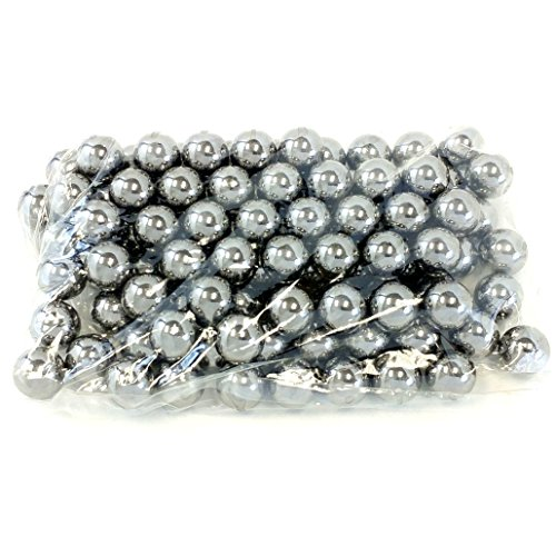 Caliber) Steel Bearing Balls for Slingshot Ammo (Pack of 100) (Steel Shot Balls)