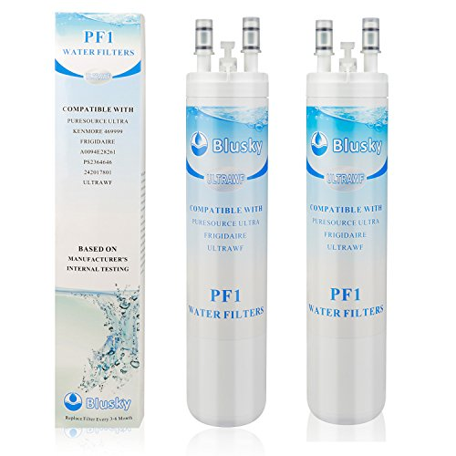 2Pack PureSource ULTRAWF Refrigerator Water Filter, 11'' Long Refrigerators & Ice Makers Also Fits Kenmore 46-9999 A0094E28261 And Side-By Side Fridge Appliances Models by Realwater