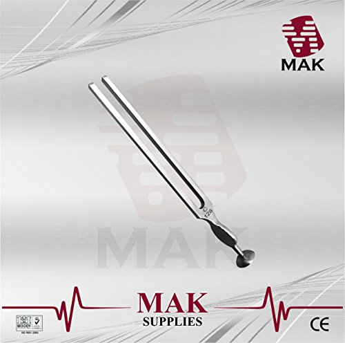 MAK Fine Quality Tuning Fork - Medical Grade Gardiner Brown 128Hz 22cm