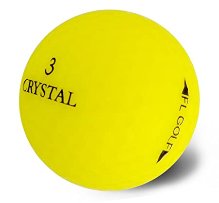 Crystal Golf BallsRainbow 1 Dozen
