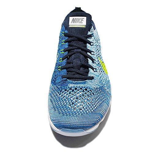 Nike 698616-404 - Zapatillas de deporte Mujer Azul (Blue Glow / Volt College Navy White)