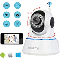 HOSAFE X1MW2 720P Wireless Pan/Tilt IP Camera Two Way Speak SD Card recording Motion Detection Email Alert