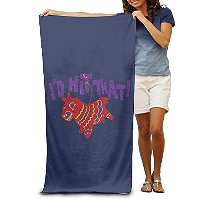 ShanxianP I'd Hit That Soft Fast Drying Beach Towel Pool Towel 3050