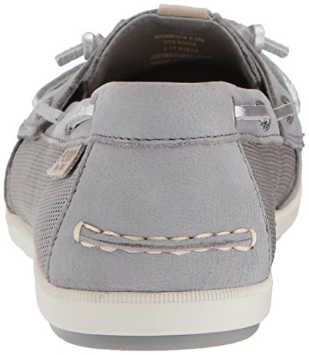 Sperry Top-Sider Women's Coil IVY Metallic Boat Shoe Grey clearance in China good selling online amazing price sale online QRpyc