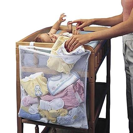 [Envio Gratis] infantil bebé la ropa sucia pañales para colgar bolsa de almacenamiento organizador