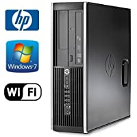HP 8200 Elite Desktop - Intel Quad Core i5 3.10 GHz, 16GB DDR3, NEW 1TB HD, Windows 7 Pro 64-Bit, WiFi, DVD-ROM (Prepared By ReCircuit)