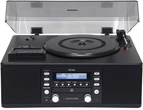 Teac CD Recorder with Cassette Player & 3 Speed Turntable, U