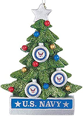Navy Christmas Ornaments.Kurt Adler Us Navy Christmas Tree Ornament