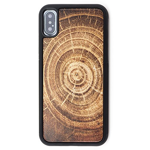 Cheap Cases Extra Protective Wood iPhone X Case - Genuine Wooden Phone Case with..