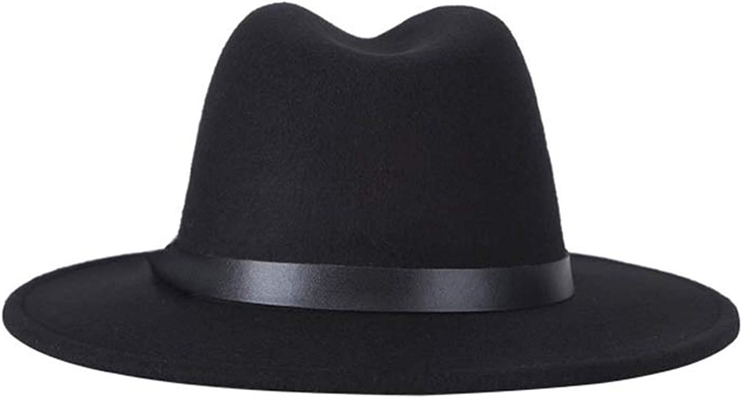 Eric Carl and Spring Summer Mens Fedora Hats Unisex Belt Fashion caps Large Size and Comfortable Adjustable