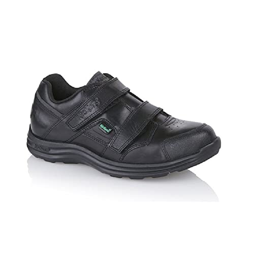c5083ae2af Kickers Seasan Strap Leather Boys' School Shoes: Amazon.co.uk: Shoes ...