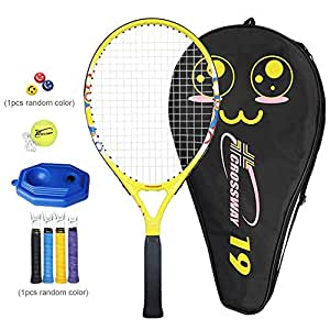 Morningtime Raqueta De Tenis para Niños,Practique La Raqueta Incluyendo Bolsa De Tenis 19/21/23/25 De Pulgada (Infantil para La Escuela Primaria Y Los ...