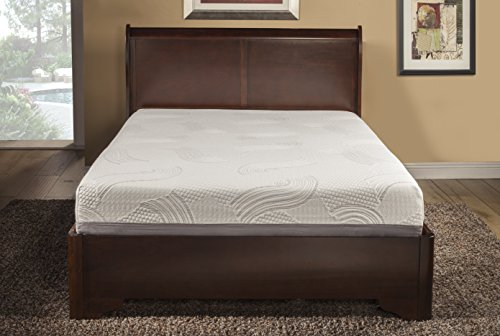 Irvine Home Collection 10-Inch Gel Memory Foam Mattress-Quee