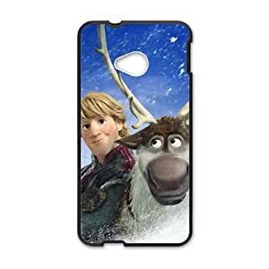 QQQO Frozen Kristoff and Sven Cell Phone Case for HTC One M7