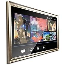 "MOOWIM 32"" Smart TV Mirror with Frame (2017 Model)"