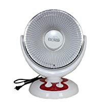 Essential Décor Entrada Collection Electric Heater, White
