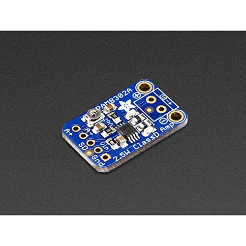 Audio IC Development Tools Adafruit Mono 2.5W Class D Audio Amplifier - PAM8302 (1 piece) (Mono Development)