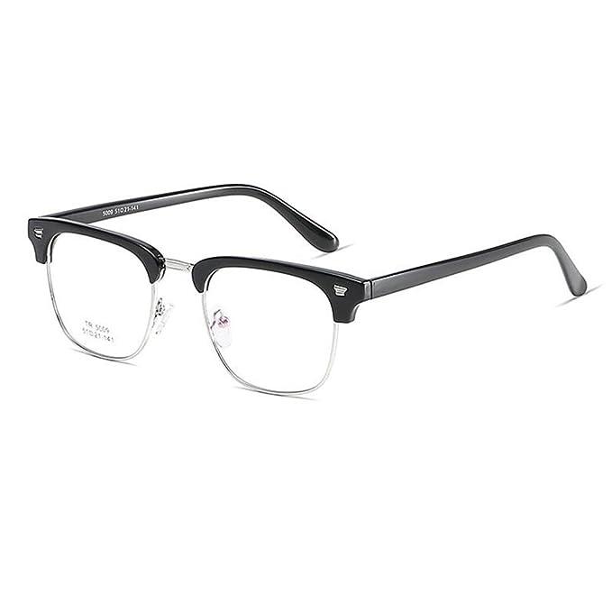 1a5214a739 Aiweijia Occhiali con montatura in metallo Occhiali con lenti ...