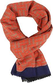 Sakkas Jiel Long Wide Classic Multi Colored Pattern UniSex Cashmere Feel Scarf