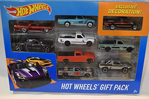 Mattel HOT Wheels Exclusive Custom REPACKAGE Trucks 9 Pack, Exclusive Black Datsun 620, Real Riders Datsun 620, Chevy