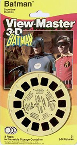 TYCO View-Master 3-D / Batman (1966 TV Series) - DC Comics Reel Set / 3 Reels - 21 3-D pics (Batman Master Series Master)