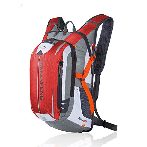 X-Freedom 20L Sport Outdoor Cycling Hiking Backpack Water Resistant Travel Backpack Lightweight Daypack For Bicycle Riding Running Camping (Red)