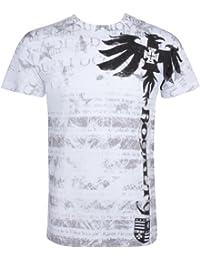 """Royalty"" Dragon Short Sleeve Crew Neck Cotton Mens Fashion T-Shirt ( 2 Colors )"