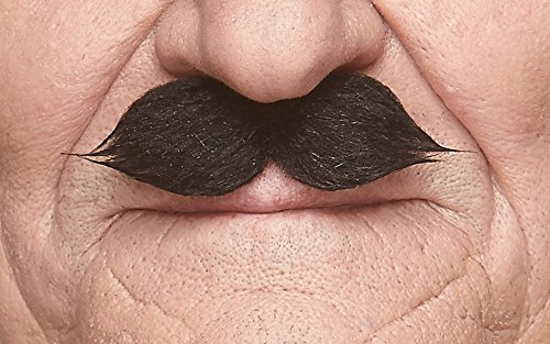 Mustaches Self Adhesive, Novelty, Fake, Value Pack (6pcs.) by Mustaches (Image #3)