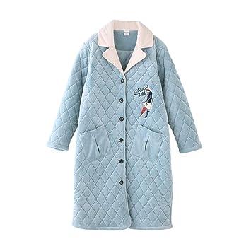 GYH Pijamas De Mujer Invierno Espesar Acolchado Encantador ...