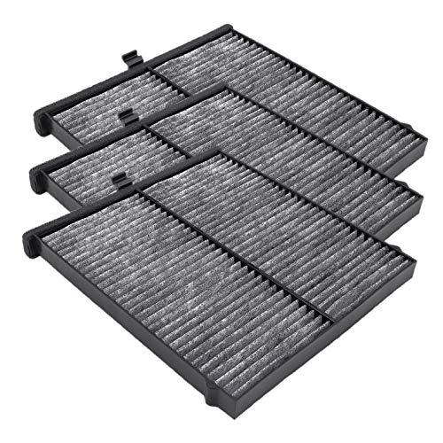 3 Pack Cabin Air Filter for Mazda 3,6,CX-5,Replacement for CF11811,KD45-61-J6X,MP11-1K-D451