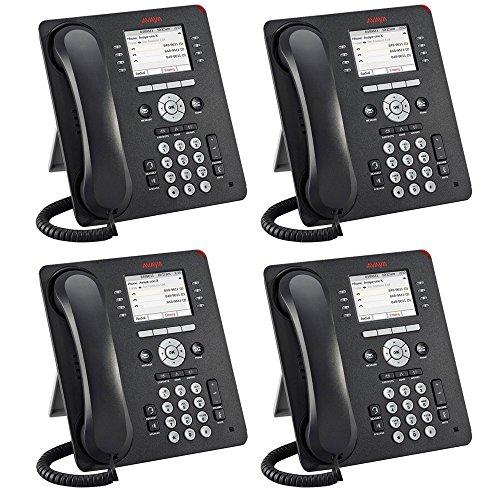 Avaya 9611G 4 PACK IP Gigabit Office Phone 700510904 ()