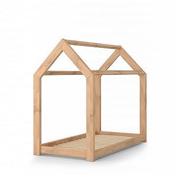 Kinderbett haus  VICCO Kinderbett Kinderhaus Bett Kinder Holz Haus Schlafen ...