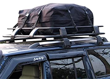 340 Litre Car Roof Rack Cargo Bag Soft Top Box