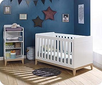Babyzimmer Evidence Weiss Und Holz Farbe Mit Wickeltisch Amazon De Baby