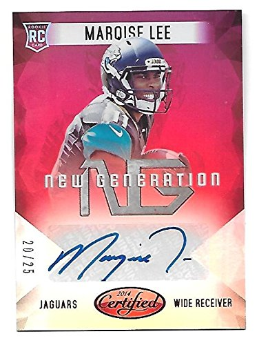 - MARQISE LEE 2014 Certified New Generation Rookie RC Autograph Mirror Red auto/25