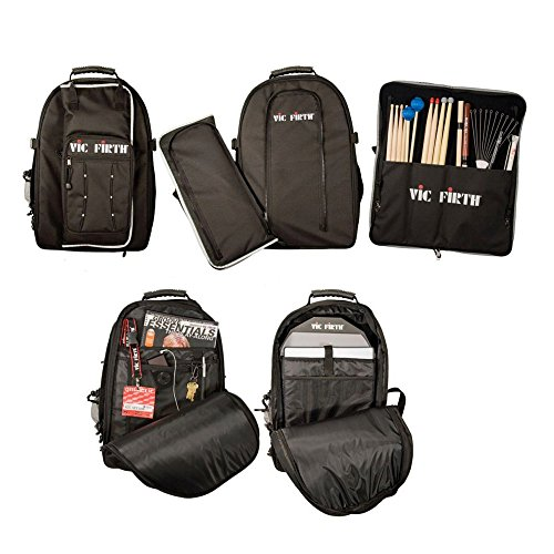 Vic Firth VICPACK Backpack w/ Detachable Stick Bag ...