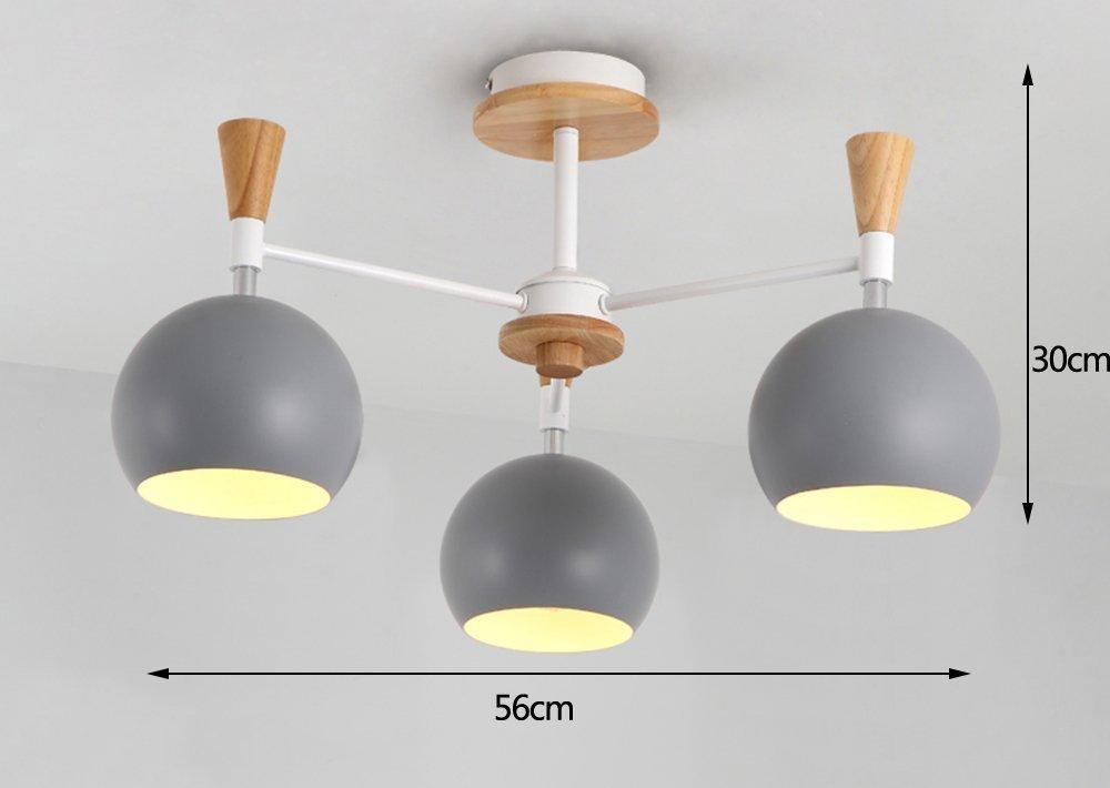 GRY Nordic Fashion Einfache Holz Licht Deckenleuchte Deckenleuchte Kronleuchter Licht Licht Licht für Schlafzimmer, Küche, Wohnzimmer, Korridor, Balkon B07C9ZJN13 Taschenlampen, Stirnlampen & Laternen Menschliche Grenze a32d9d