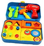 Kidoozie Cool Toys Tool Set - Includes Audio Responses to Encourage Learning - Ages 18 Months and Up