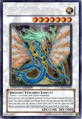 Yu-Gi-Oh! - Ancient Fairy Dragon (CT06-EN002) - 2009 Collectors Tins - Limited Edition - Secret Rare ()