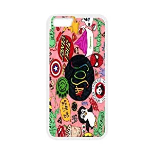 FOR Apple Iphone 6 Plus 5.5 inch screen Cases -(DXJ PHONE CASE)-5SOS Rock Music Band- Love Music-PATTERN 10