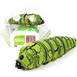 kishiya 芋虫 玩具 ラジコン 自動走行搭載 かわいい 腹ペコ芋虫 ドッキリ 緑2