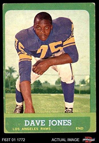 1963 Topps # 44 Deacon Jones Los Angeles Rams (Football Card) Dean's Cards 3 - VG Rams