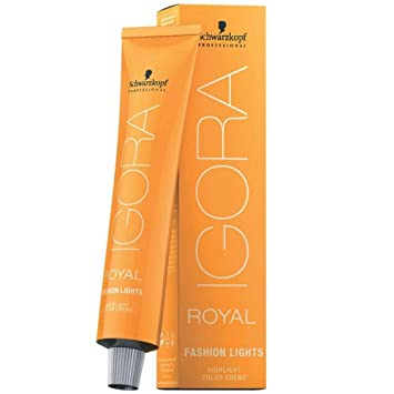Schwarzkopf Professional Igora Royal Fashion Lights Hair Color, L-44, Beige, 2.1 Ounce