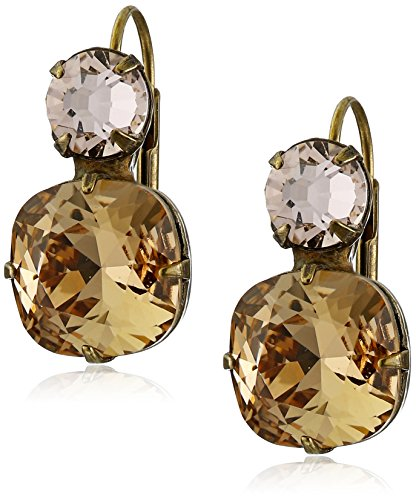 Colorado Crystal Lever Back Earrings - Sorrelli