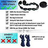 Gold Armour Camping Hammock - Extra Large Double