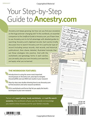 Unofficial Ancestry.com Workbook: A How-To Manual for Tracing Your ...