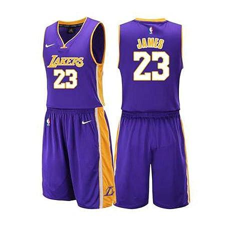 SPORTS BOY Baloncesto Camiseta, Estrella de la NBA Lakers ...