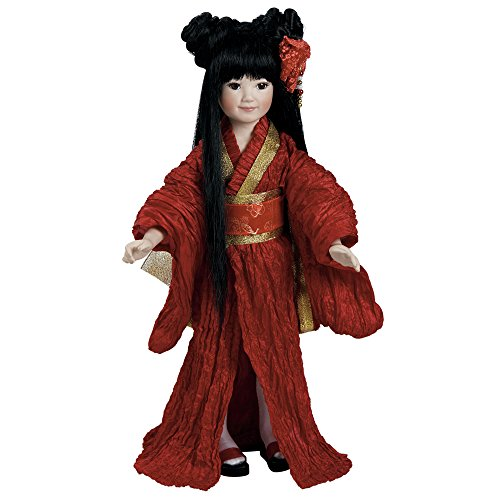 Porcelain Chinese Doll - 2