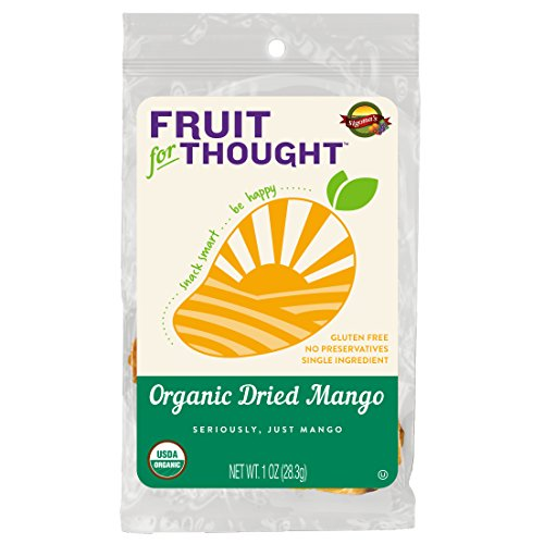 Organic Dried Mango Strips - Seriously It's Just Mango, No Added Sugar, No Preservatives - Just Naturally Grown Mango Served in On-The-Go 1 Ounce Individual Snack Packs (Pack of 12) (The Best Manga Site)